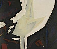 Jan Meijer 1927-1995 - Composición Abstracta Blanco y Beige