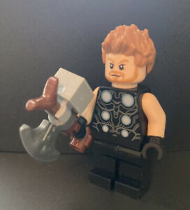 LEGO Thor Avengers Infinity War Marvel Super Heroes Minifigure 76102