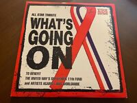 """ALL STAR TRIBUTE WHA'TS GOIN ON VINYL 12"""" ARTISTS FOR AIDS"""