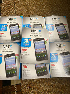 ZTE Rapido 4G LTE NET10 in Sealed New Box  ,  Lot Of 7