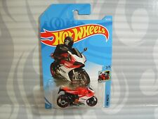 2019 HOT WHEELS ''HW MOTO'' #58 = DUCATI 1199 PANIGALE  = RED & WHITE , int