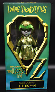 Living Dead Dolls -LOST IN OZ - BRIDE of VALENTINE as TIN MAN variant -Mezco MIB