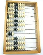 Vintage Abacus Counting Board Plastic Knuckles 12 Spokes USSR Collectible Soviet