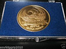 Seattle SEAFAIR PIRATES BRONZE COIN MOBY REBORN VERY RARE