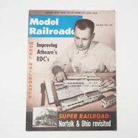 Vintage Model Railroader Magazine November 1958