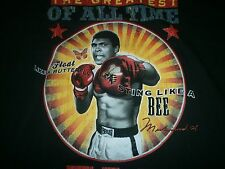 """MUHAMMAD ALI """"FLOAT LIKE A BUTTERFLY & STING LIKE A BEE"""" THE GREATEST S/S L"""