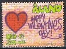 Aland postfris 2001 MNH 190 - Valentijnsdag