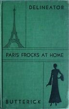 PARIS FROCKS AT HOME, 1930 BOOK (BUTTERICK