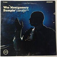 Wes Montgomery LP Bumpin' VG+ Verve V6-8625 Van Gelder 1965 Gatefold First Press