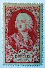 Frankreich Prominente Briefmarke Neu n°857 MNH Marquis Dupleix B4