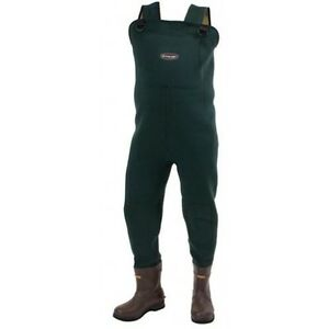 FROGG TOGGS AMPHIB NEOPRENE BOOTFOOT WADERS Sizes 7-14  #2713243