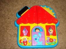 RARE BLUE'S CLUES HOUSE 3-D PLASTIC PUZZLE