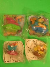 Taco Bell 1995 Flintstones Stoneage Stampers set of 4 *MIP*