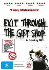 Exit Through The Gift Shop (DVD, 2010) - Region 4