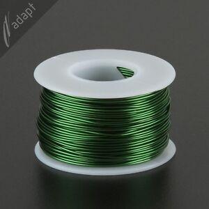 Magnet Wire, Enameled Copper, Green, 19 AWG (gauge), 155C, 1/2 lb, 125ft