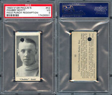 1923 V128 PAULIN'S CANDY #52 CHUBBY SCOTT PSA 3