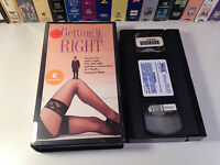 Getting It Right Rare Comedy Drama VHS 1989 OOP HTF Jesse Birdsall Jane Horrocks