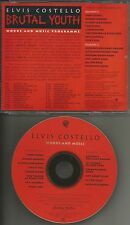 ELVIS COSTELLO Ultra Rare 1994 INTERVIEW Words & music PROMO DJ CD w/ Nick Lowe