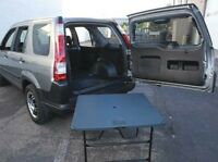 HONDA CR-V CRV MK2 02-2006 VGC ORIGINAL REAR PICNIC TABLE // BOOT FLOOR PANEL