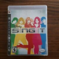 SING IT   ( PLAYSTATION 3 PS3  ) Tested
