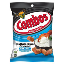 Combos Buffalo Blue Cheese PRETZEL 178g  (American Snack) PACK OF 2