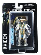 "Mortal Combat Raiden 3 3/4"" Action Figure Mezco *SLIGHTLY DENTED BOX*"