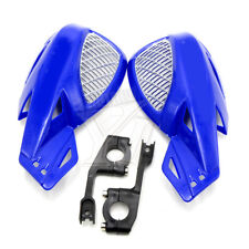 "W/ 7/8"" 22MM ATV Blue Handlebars Hand Guards For Yamaha YZ WR Honda Motorcycle"