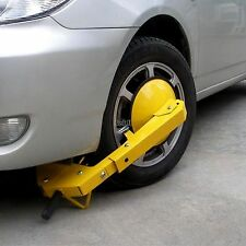 Auto Car Vehicle Wheel Clamp Disc Lock Anti-Theft Security Safety Heavy Duty BF0
