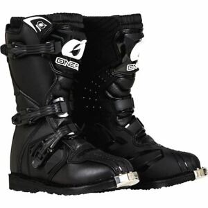 O'Neal Racing Rider Peewee Boots - Black, All Sizes