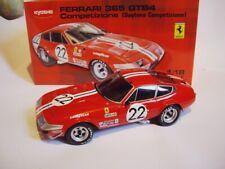 1/18 Ferrari 365 GTB4 N.A.R.T.  #22 2e 24H Daytona 1973 Kyosho Neuf