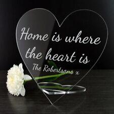 Personalizzato a casa è dove il cuore è sign-REGALO PER LA NUOVA CASA D'INAUGURAZIONE