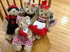The Bearington Bears Luke B. Lucky, Laura B Lucky, Patty Picnic, Starla Spangled