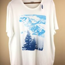 Old Navy Men's White Soft-washed T Shirt Sz XXL Graphic Tee With Tags 2xl