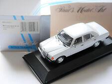 Mercedes W 123 Typ 230 E weiß bianco blanc white, Minichamps MIN 032201 in 1:43!
