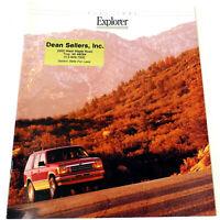 FORD 1992 EXPLORER UTILITY SUV Vintage SALES BROCHURE /CATALOG Original 16 pages