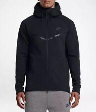 Nike Tech Fleece Sudadera con cremallera completa Brisaveloz 805144-010 NEGRO TALLA M RRP £ 90
