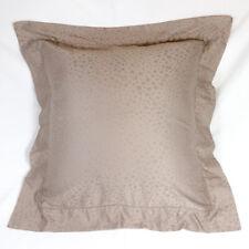 Frette Euro Pillow Sham Set of (2) Taupe Euc