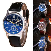 1PC Men Classic Watch Stainless Steel Sport Analog Quartz Wristwatch 5Colors
