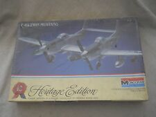 1/72 scale: Monogram: F-82 Twin Mustang Plastic Model Kit # 6063