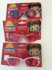 Girls Nickelodeon NI HAO, KAI-LAN UV Sunglasses Children Toddler Kid 3 Pairs!!!