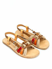 Isabel Marant Étoile Jeana rope and leather sandals AUS 8.5, 39