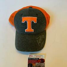 Peyton Manning Signed Tennessee Volunteers Football Hat Cap With JSA COA