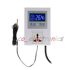 Digital Temperature Controller Outle Thermostat For Greenhouse/Freezer/Incubator