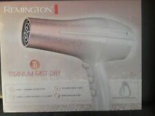 Remington Titanium Fast Hair Dryer - New!