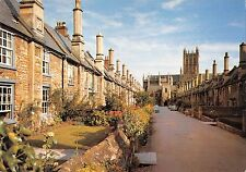B102143 vicar s close wells oldest comlete street in europe  uk