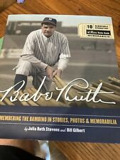 BABE RUTH REMEMBERING THE BAMBINO IN STORIES,PHOTOS & MEMORABILIA BOOK Like New