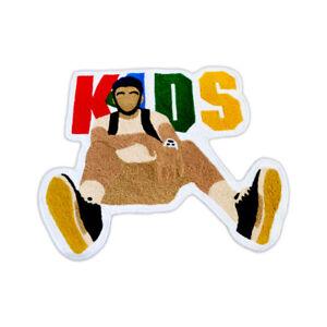 New Custom Made Rapper Mac Miller KIDS Mixtape Album Cover Floor Mat Carpet Rug