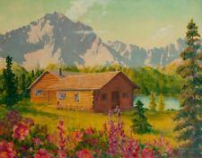 "Fred Machetanz ""June at High Ridge"" Limited Edition Print-24x36"