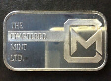 The Chartered Mint Commercial Silver Art Bar A2612
