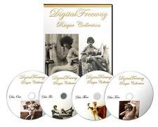 100,000 Vintage Vittoriano Risque cartolina foto nuda/immagini 4 DVD in caso di DVD